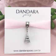 Berloque Torre Eiffel Prata 925