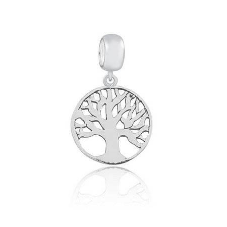 Berloque Árvore da Vida Mandala em Prata 925