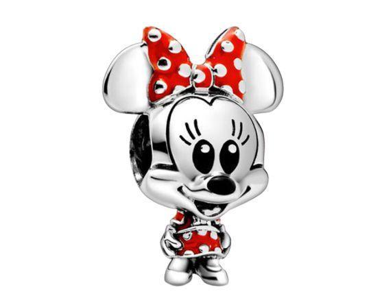 Berloque Baby Minnie Prata 925