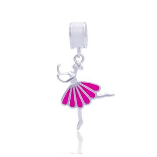 Berloque Bailarina Prata 925