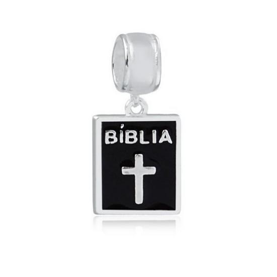 Berloque Bíblia Prata 925