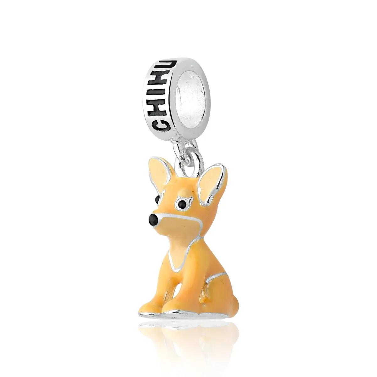 Berloque Cachorro Chihuahua Prata 925