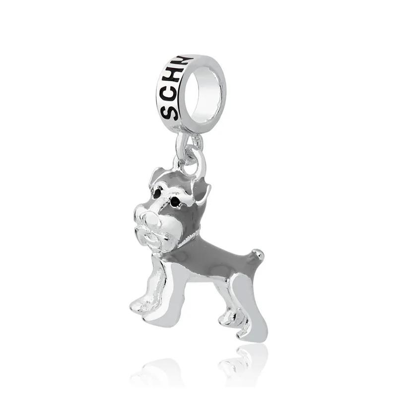 Berloque Cachorro Schnauzer Prata 925
