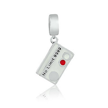 Berloque Cartão de Crédito Prata 925