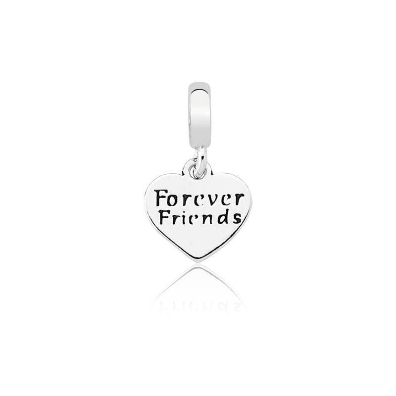 Berloque Friends Forever Prata 925
