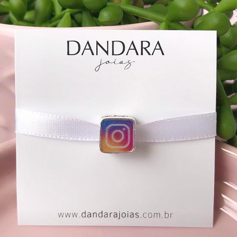 Berloque Instagram Prata 925