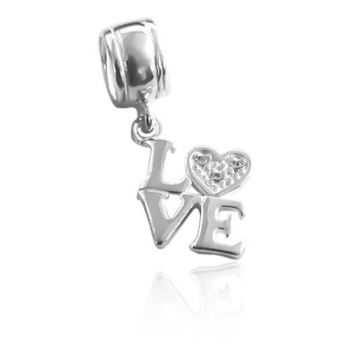 Berloque LOVE Prata 925