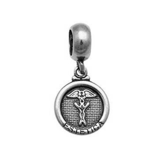 Berloque Medalha Estética Prata 925