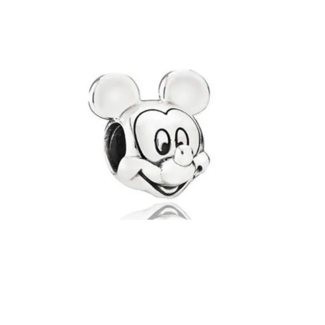 Berloque Mickey Prata 925