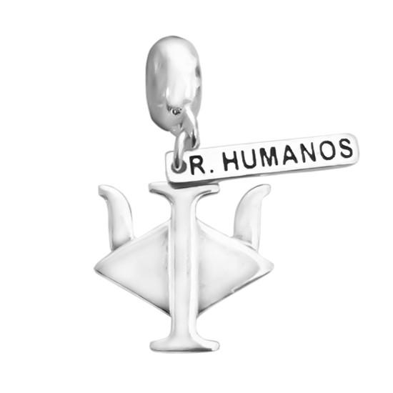Berloque Recursos Humanos Prata 925