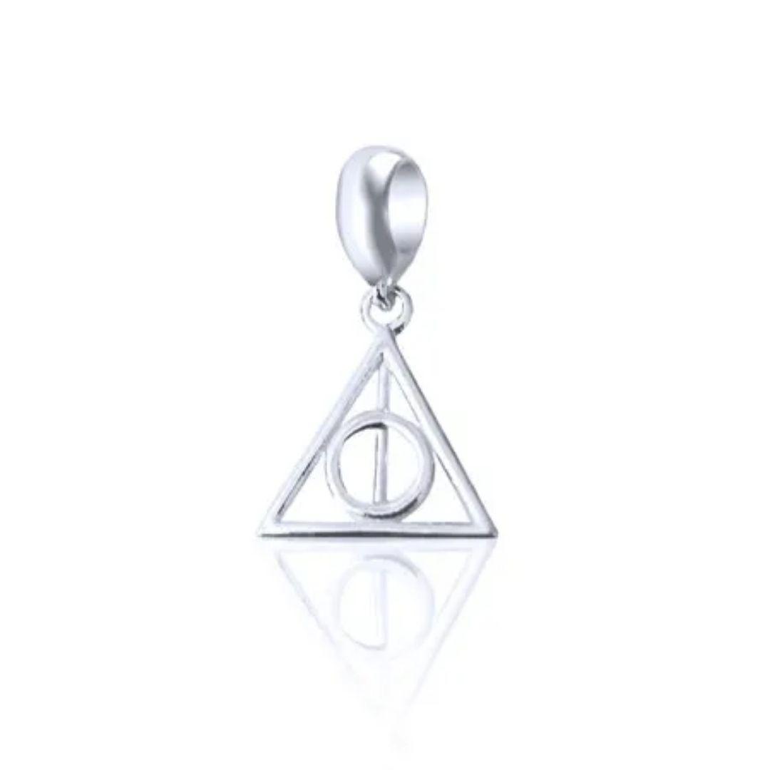 Berloque Relíquias da Morte Harry Potter Prata 925