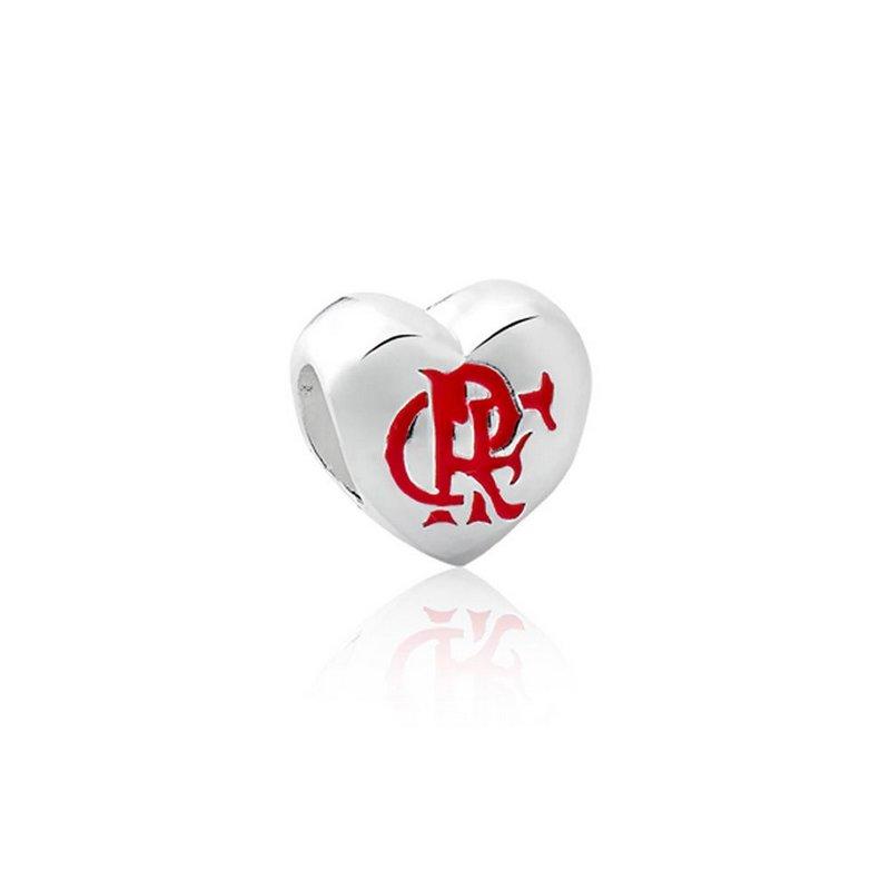 Berloque Separador Flamengo Prata 925