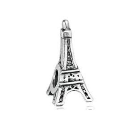 Berloque Torre Eiffel Separador Prata 925