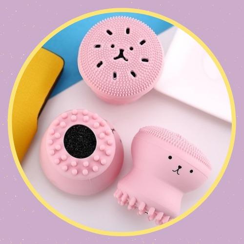 PRESENTE - Esponjinha de Limpeza Facial Polvo