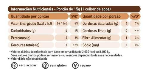 Pasta de Castanha de Caju com Chocolate Belga Crocante 150g - Ganhe Brinde