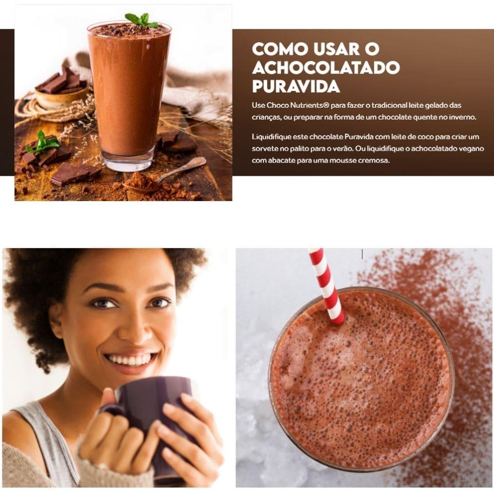 Achocolatado Multivitaminado Choco Nutrients 300g PuraVida