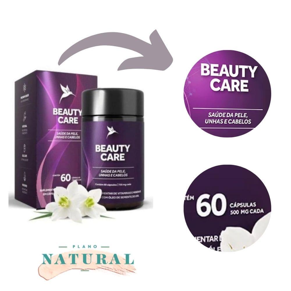 Beauty Care (60 Cápsulas) - Puravida | Cabelos pele e unhas