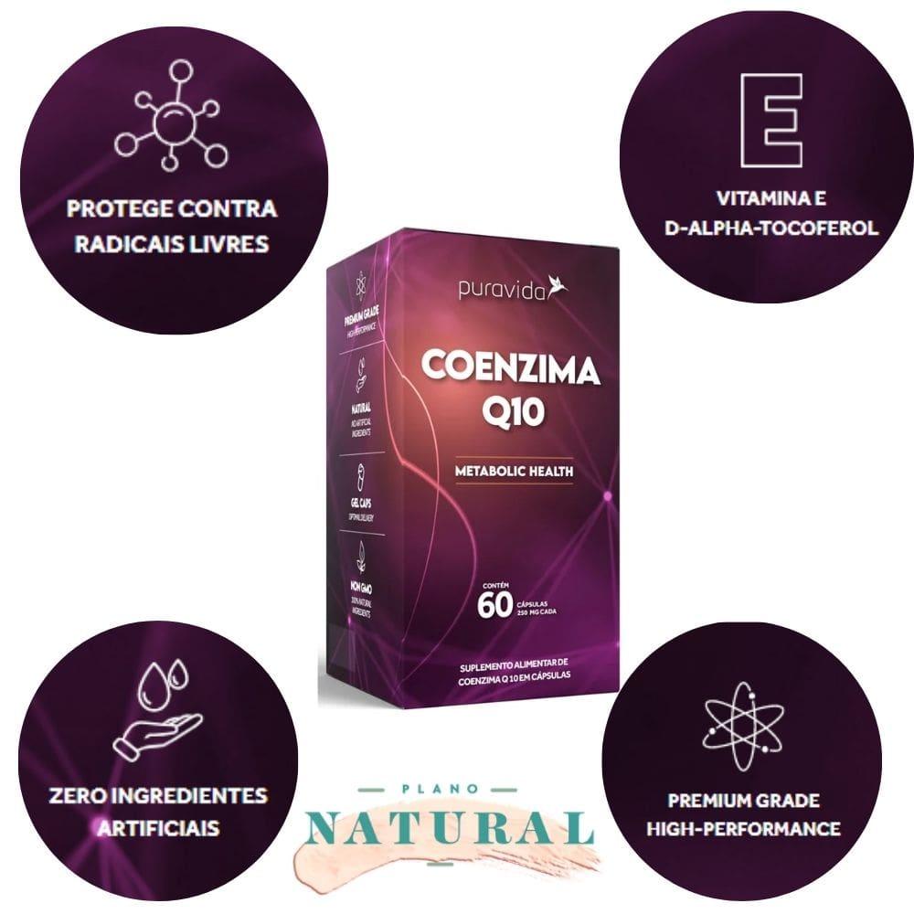 Coenzima Q10 60 Capsulas Puravida