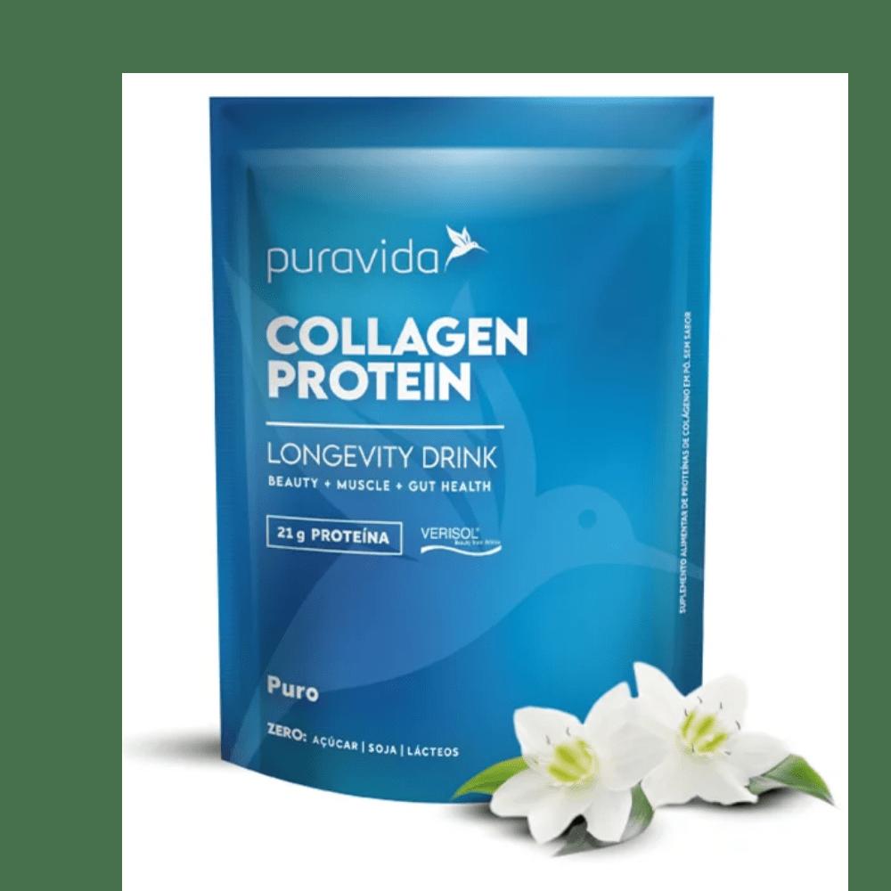 Collagen Protein Puro 450g Puravida | Colágeno Verisol