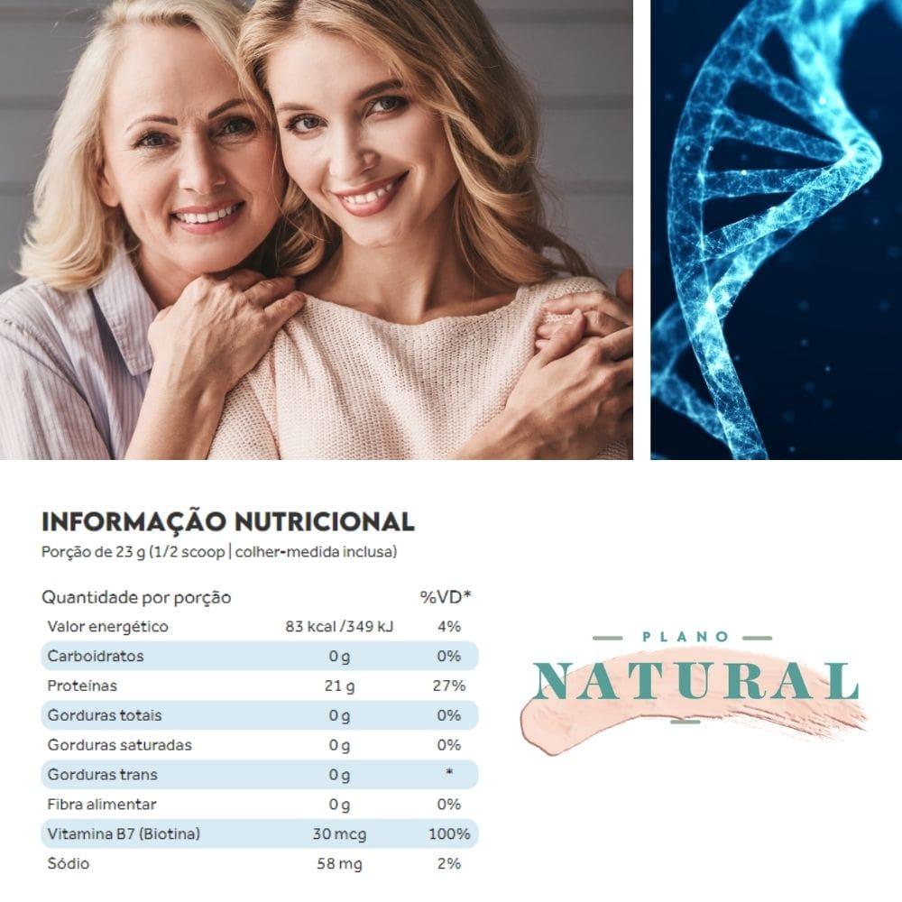 Collagen Protein Puro 450g Puravida   Frete Grátis