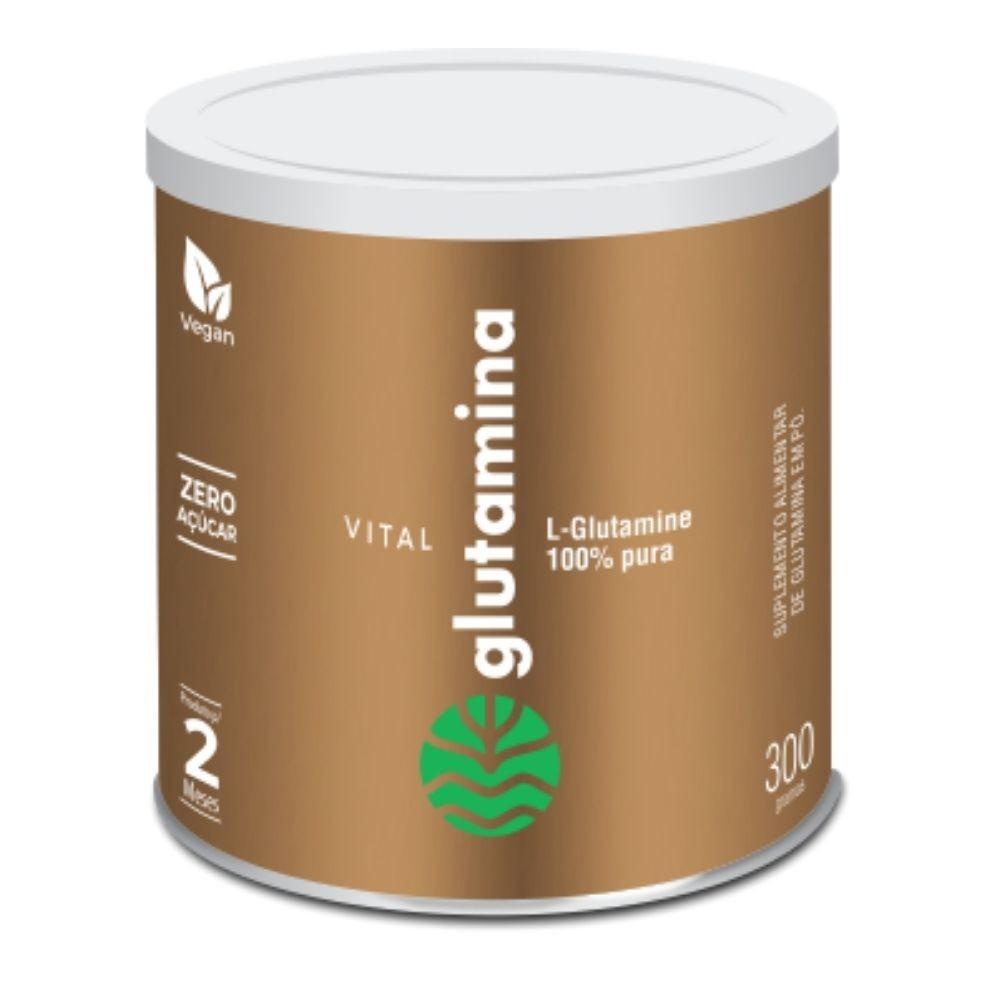 Glutamina 300g Vital Atman | Dura mais