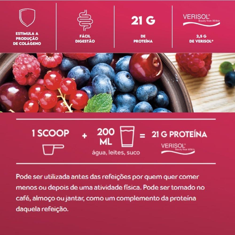 Kit 2x Collagen Protein Berries Silvestres 450g Puravida | Colágeno Verisol
