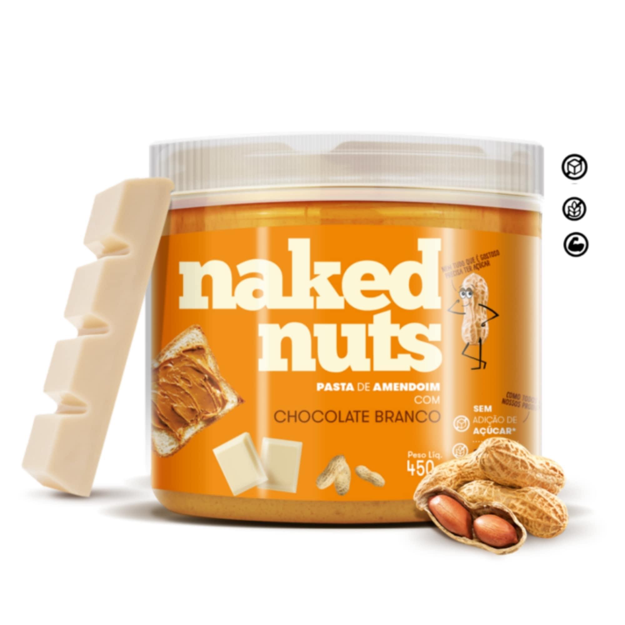 Kit c/ 5 Pastas Naked Nuts - 450g