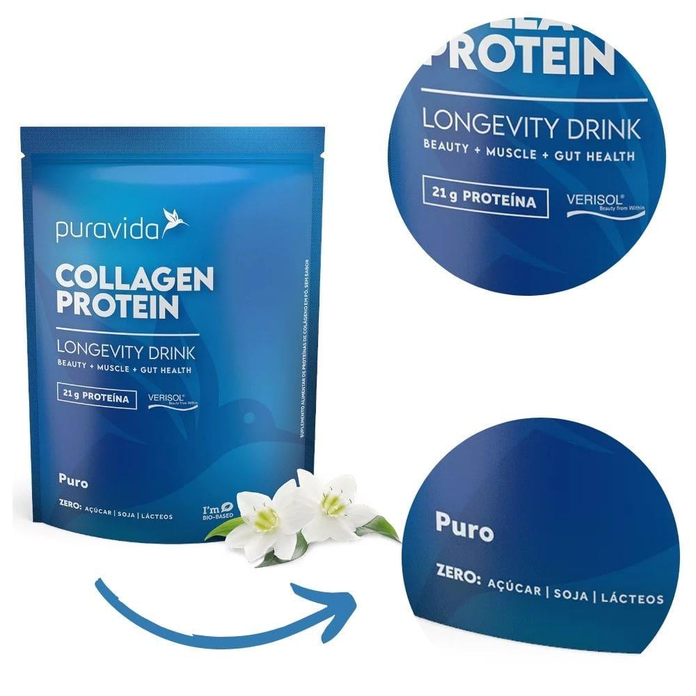 Kit Collagen Protein Berries Silvestres + Puro
