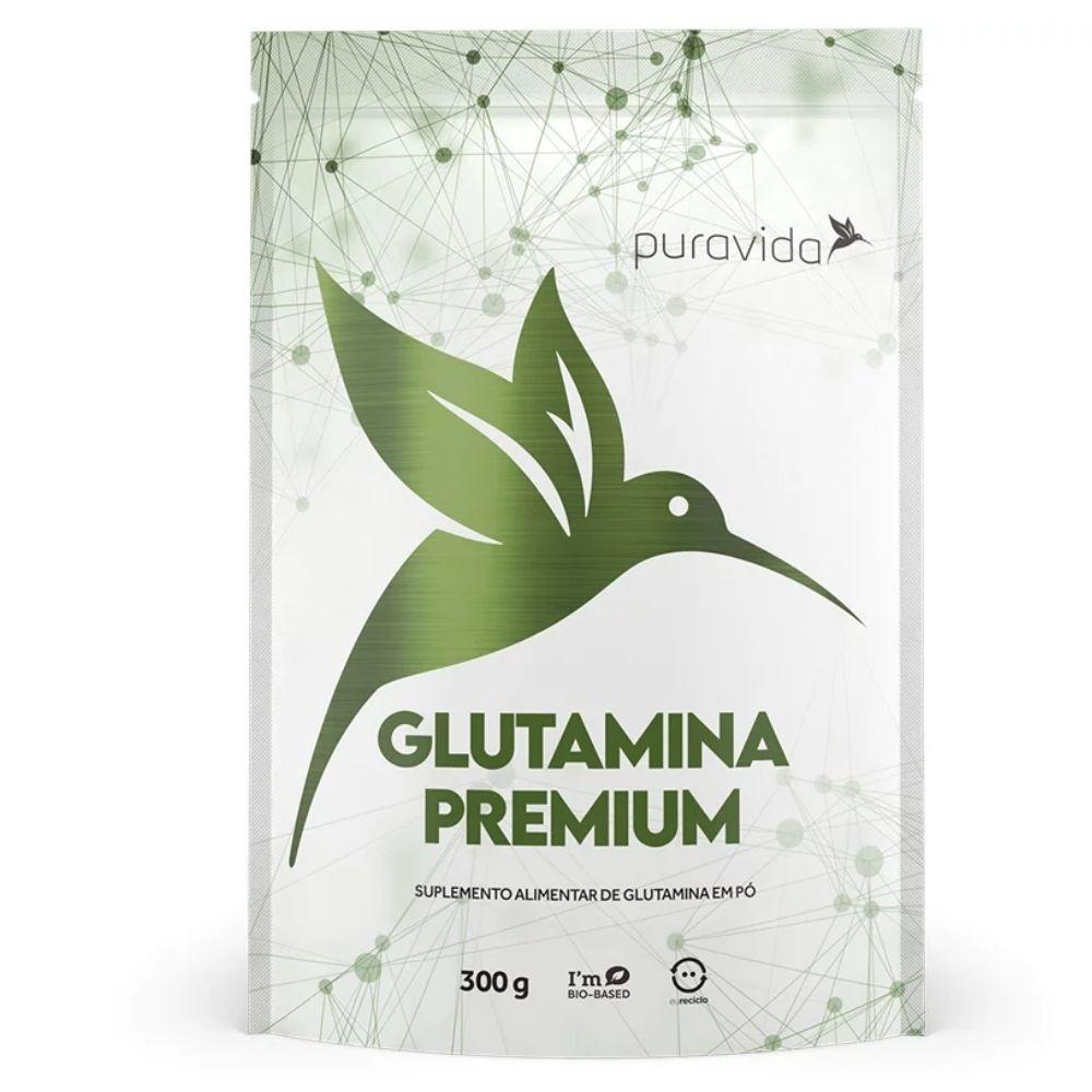 L-glutamina Premium 300g Puravida | Vegano