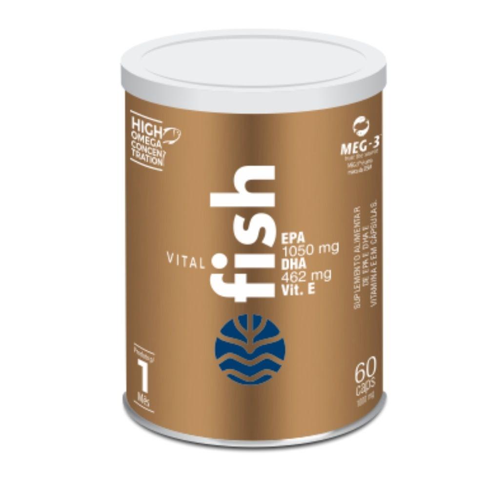 Ômega 3 Vital Fish Vitaminas 1000 Mg - Epa E Dha