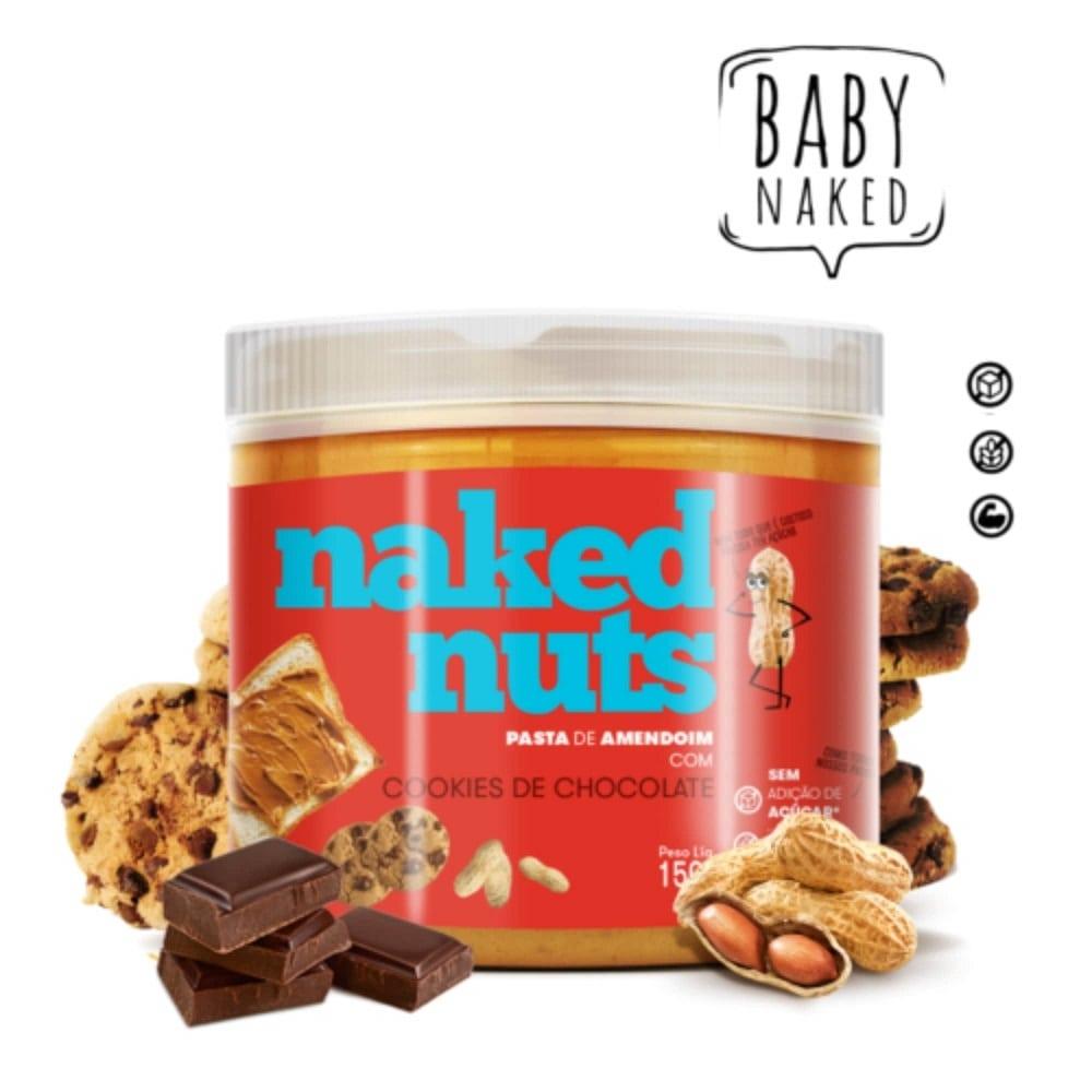 Pasta de Amendoim com Cookies de Chocolate (150g)