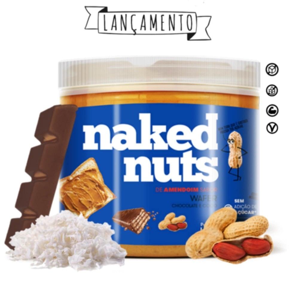 Pasta de Amendoim com Wafer de Chocolate (450g)