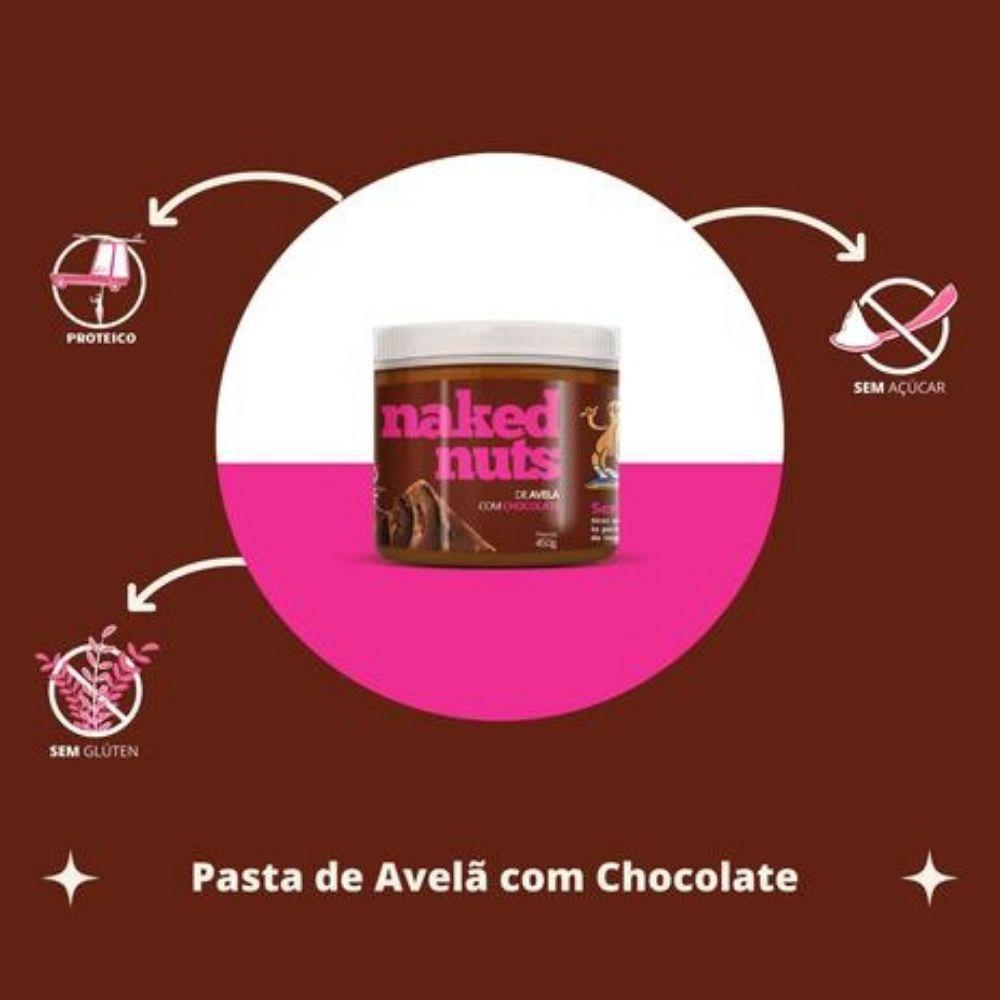 Pasta de Avela com Chocolate (450g)