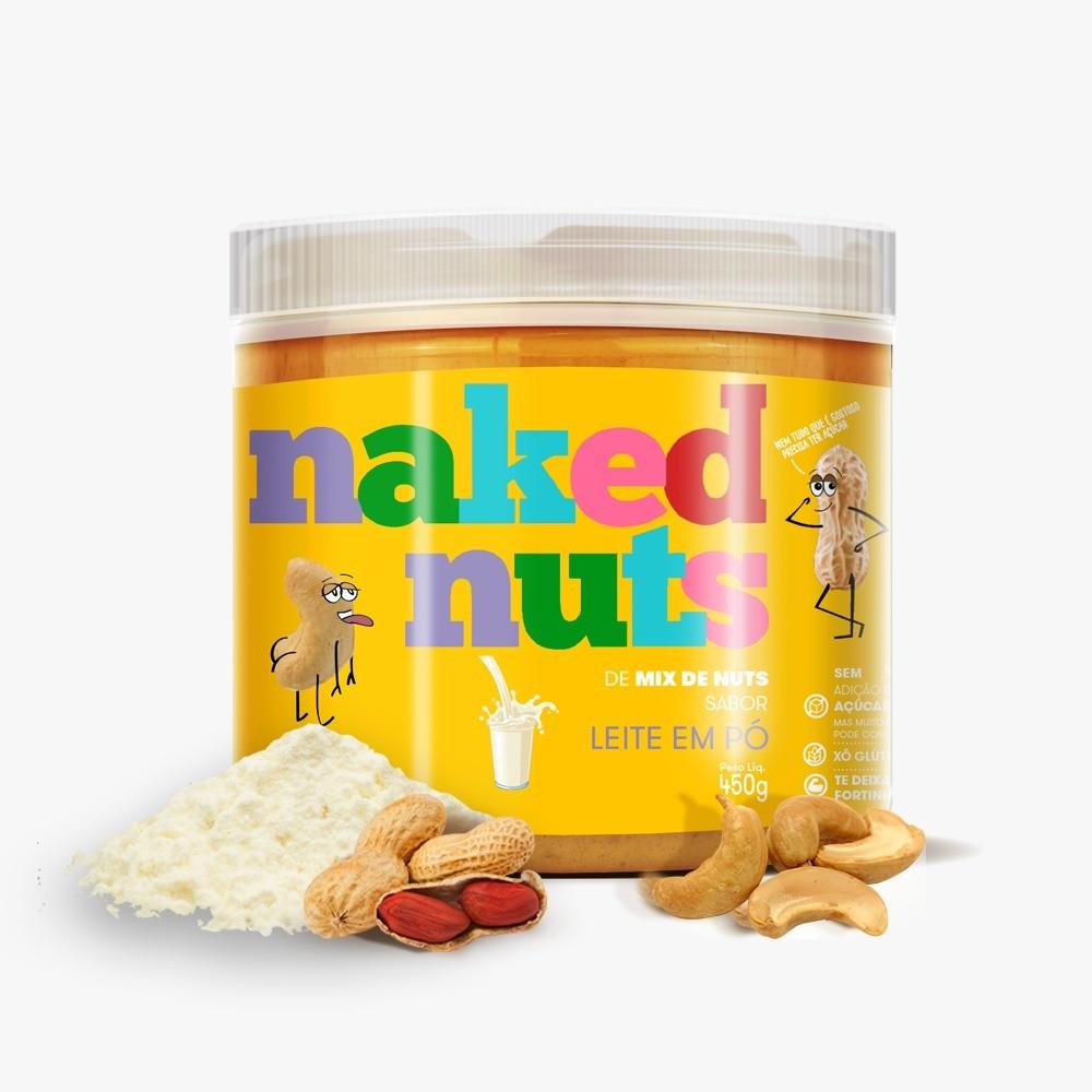 Pasta de Mix de Nuts com Leite em Po (450g)
