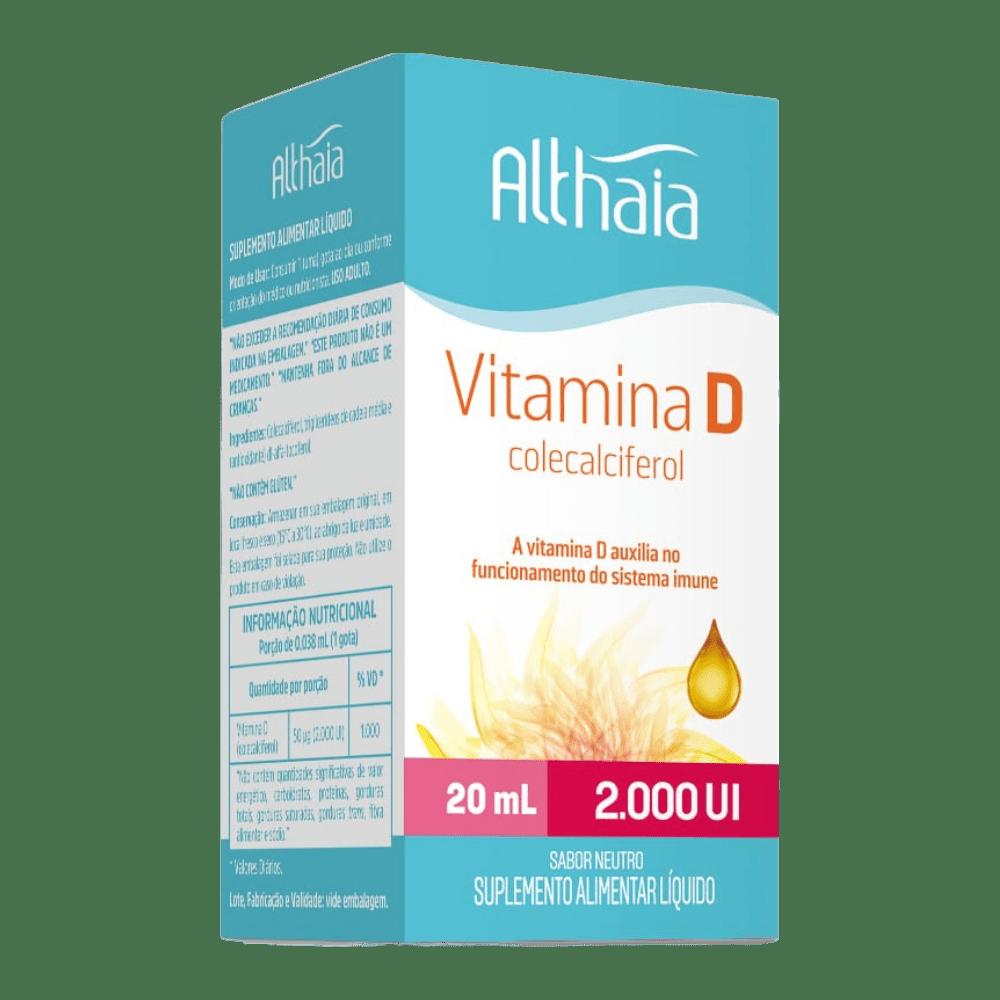 Althaia VITAMINA D 2.000UI X20ML GOTAS -EQUALIV
