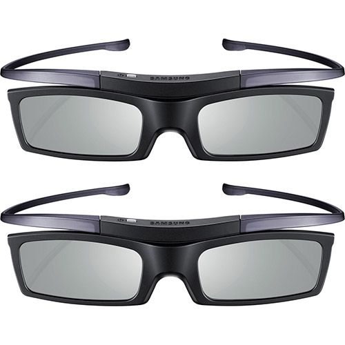 Pack com 2 óculos 3d Samsung Ssg-p51002 Preto Com Bateria
