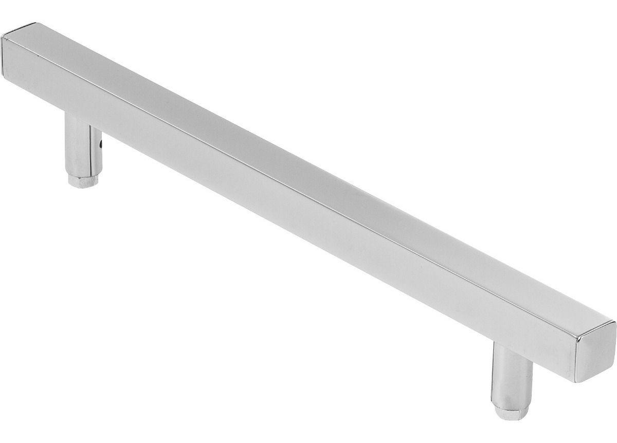 Puxador Quadrado 40cm - 1 Lado Só Da Porta