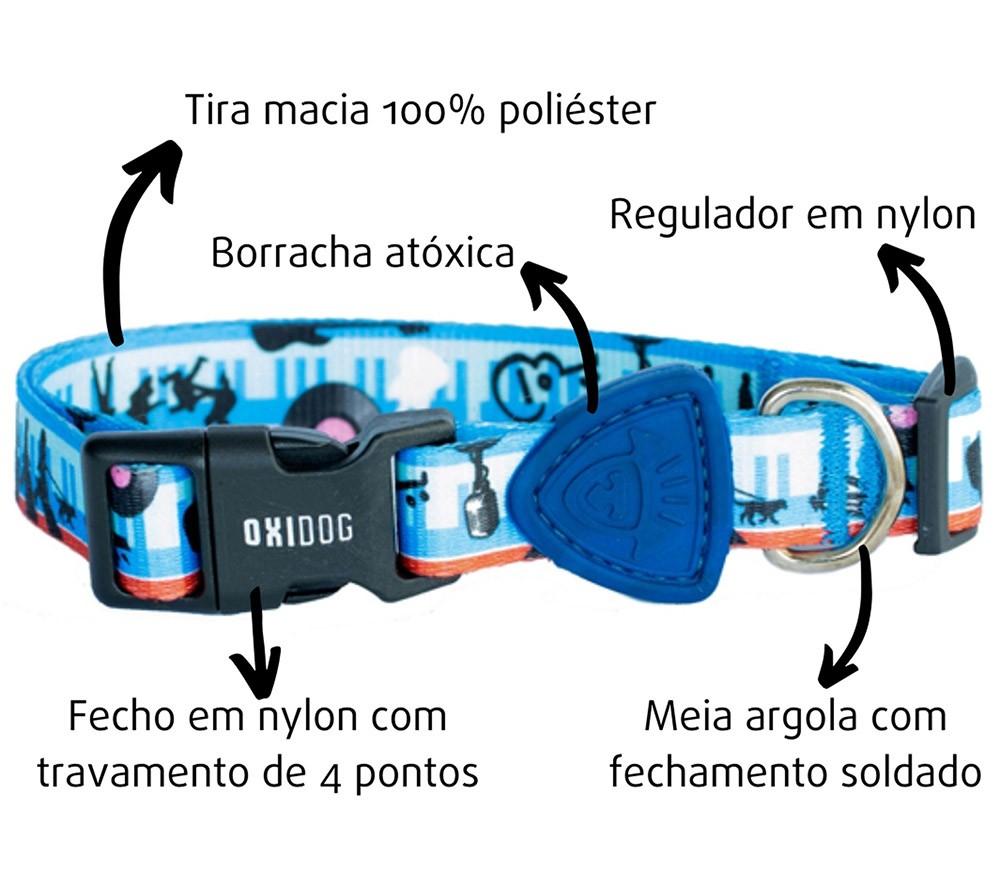 COLEIRA PARA CACHORROS MUSIC