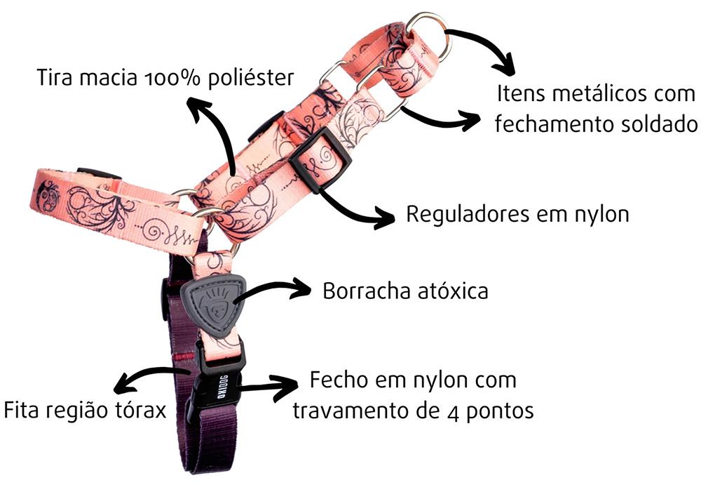 PEITORAL PARA CACHORROS TATOO