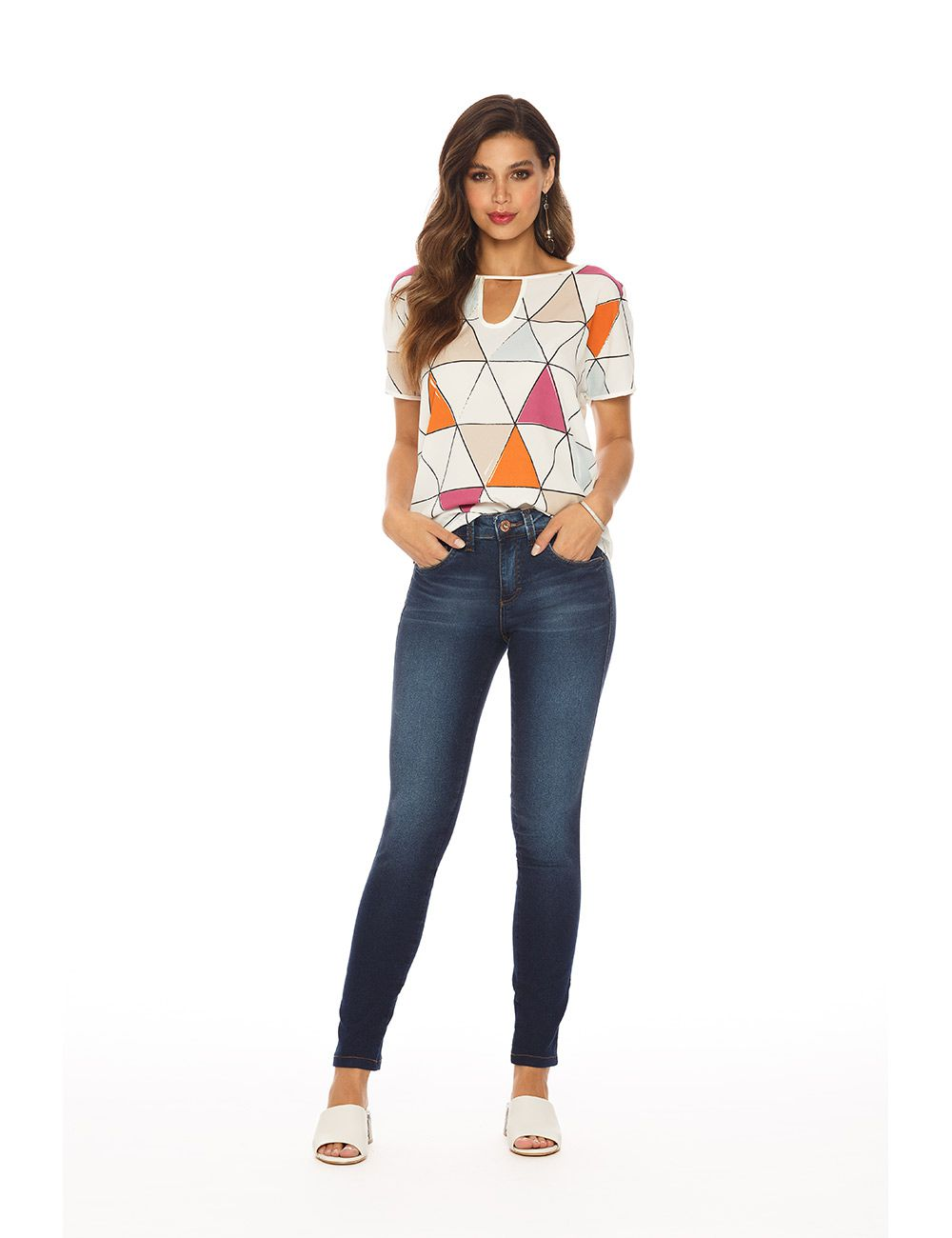 Blusa Vis Up Light com Crepe Chiffon