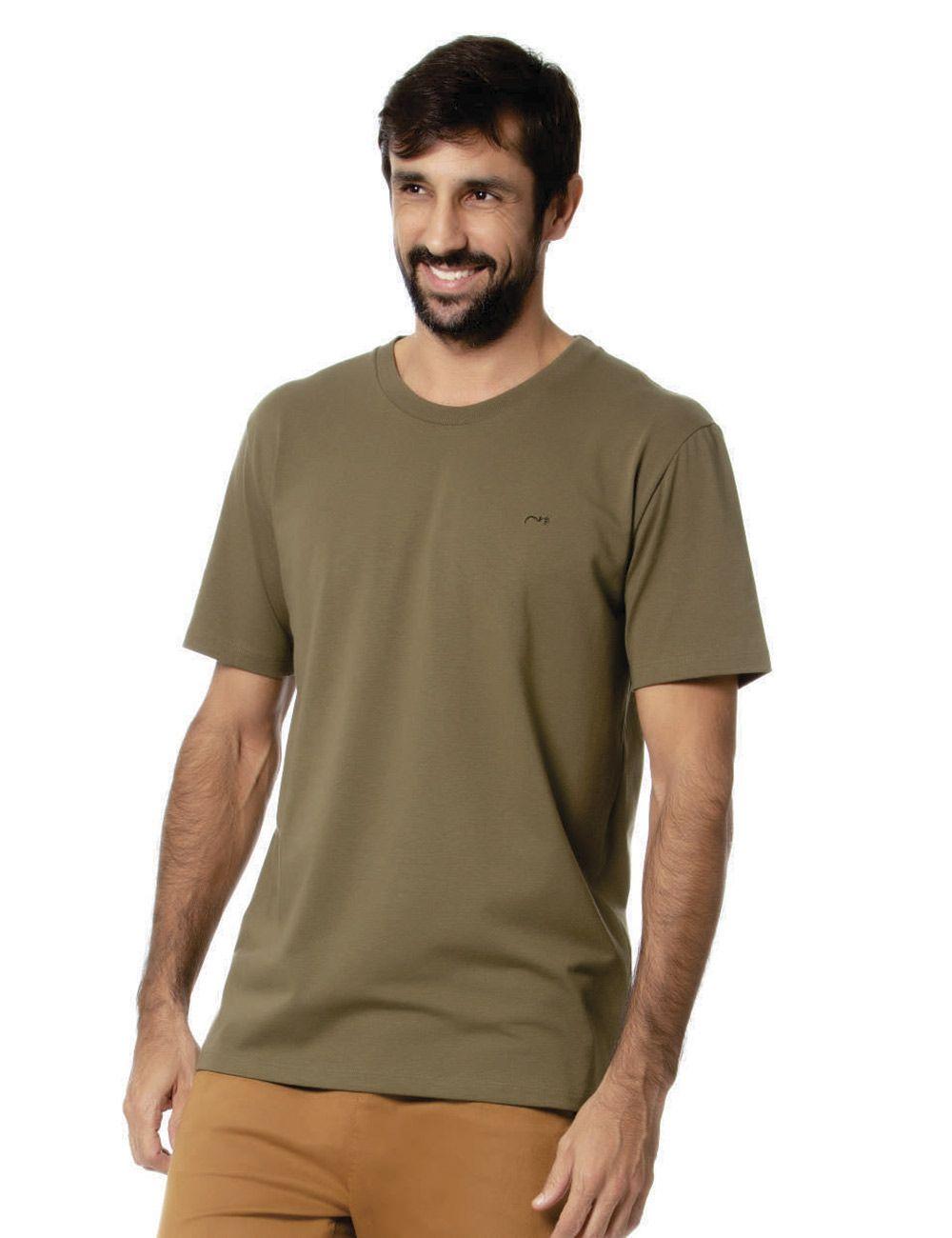 T-shirt unissex cotton comfort c/ elastano Gatos e Atos