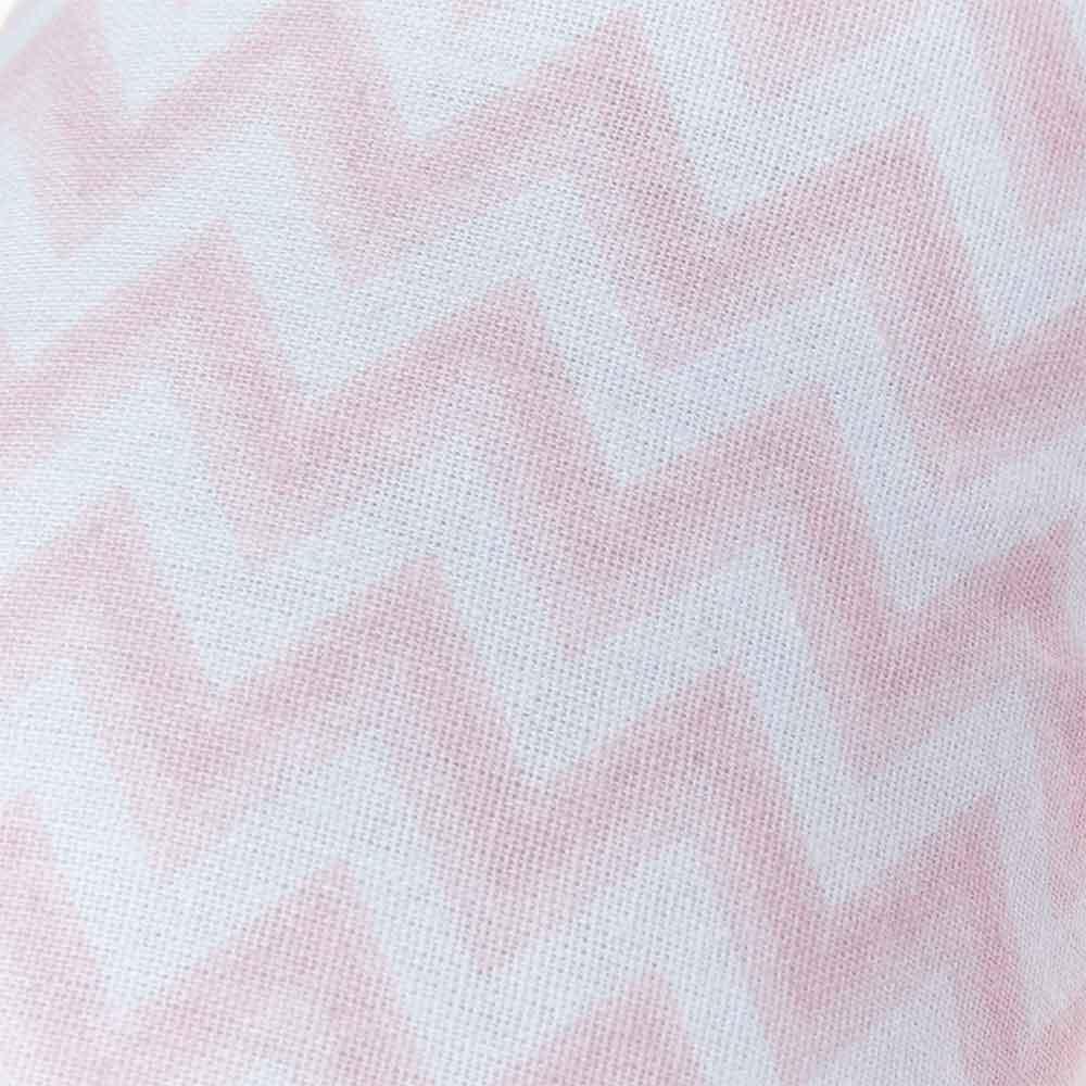 Almofada de Pescoço Papi Chevron Rosa