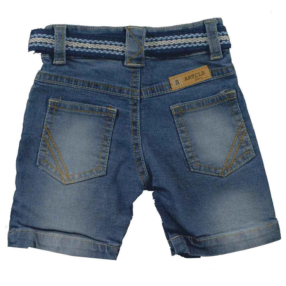Bermuda de Bebê Jeans Art. 3526