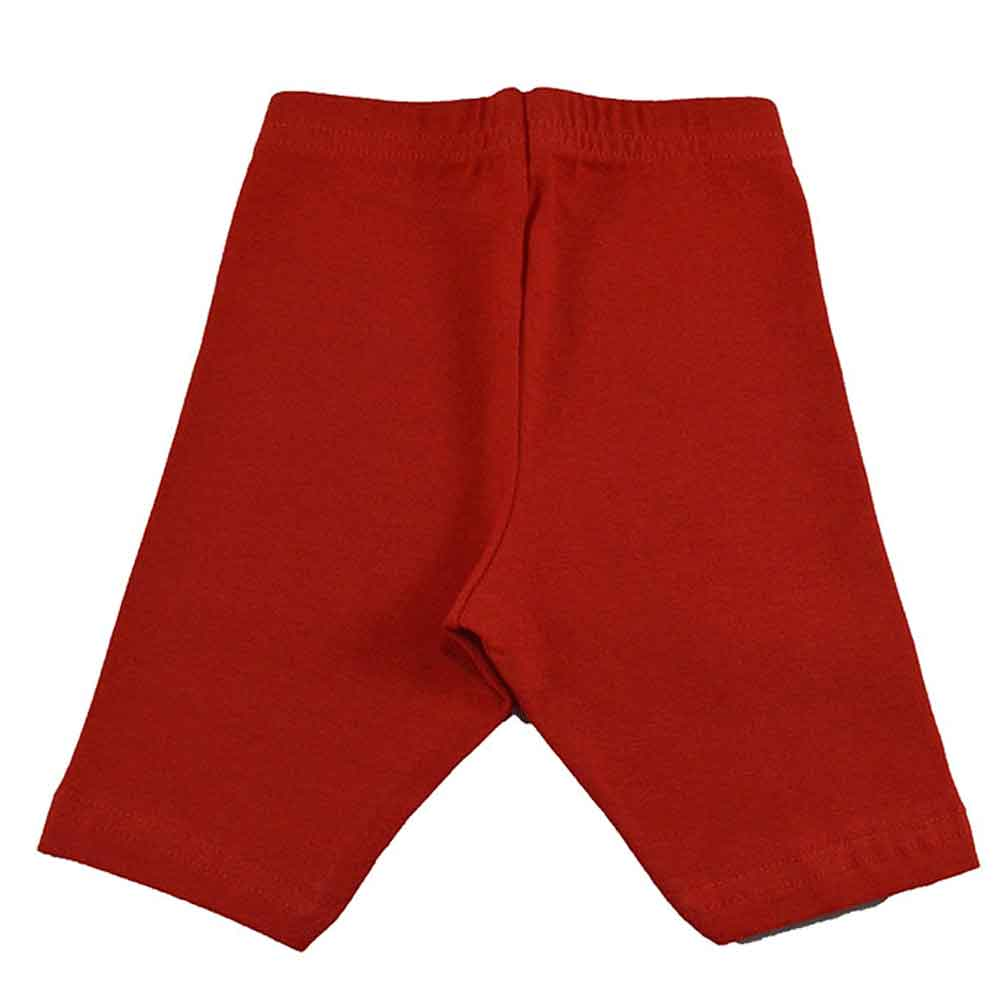 Bermuda Infantil Cotton Vermelha