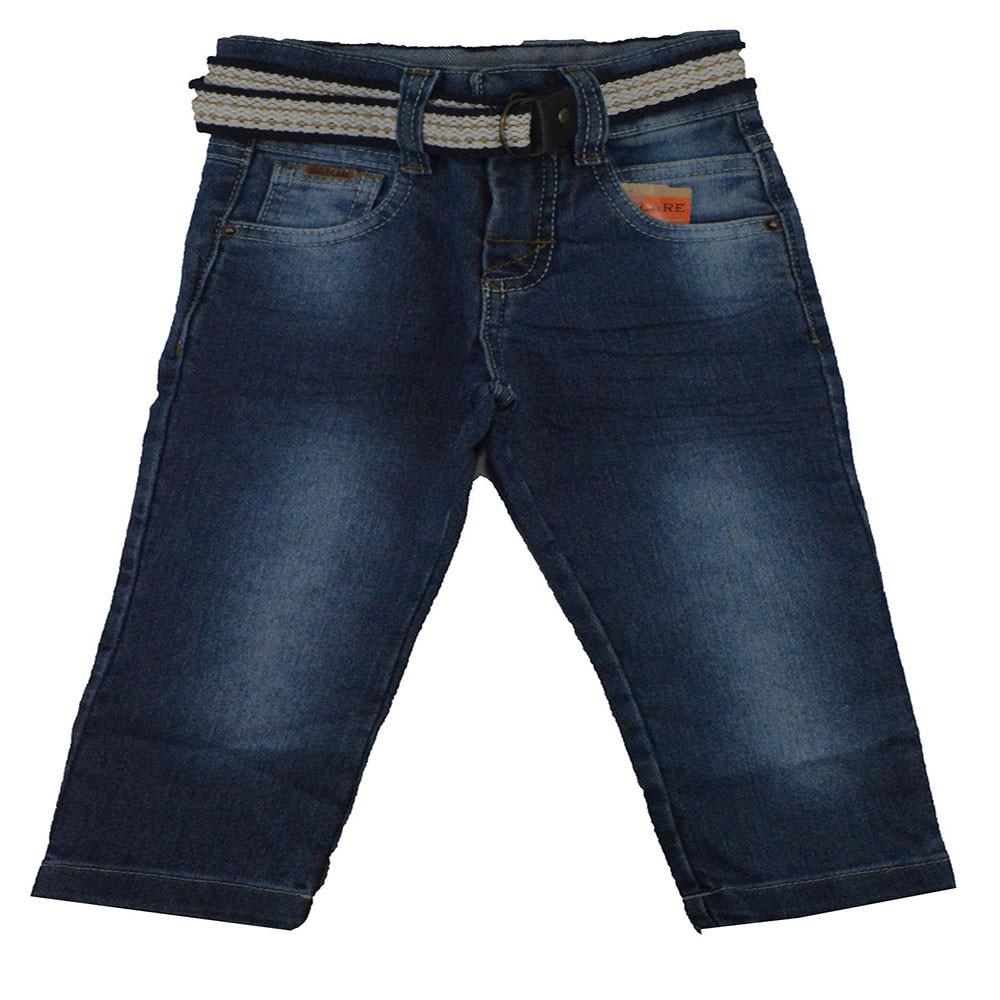Calça Jeans Infantil Art. 1 ao 3 com Cinto