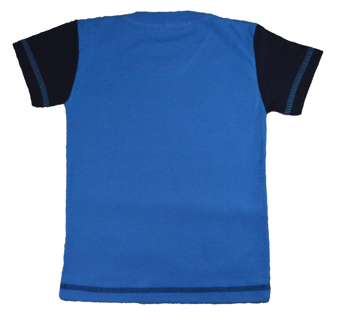 Blusa Infantil (1/2/3) Barbatana de Tubarão Azul