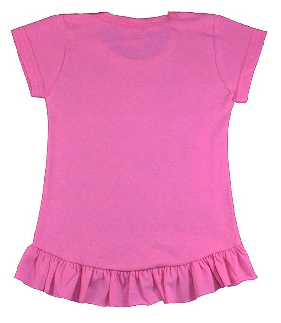 Blusa Infantil (1/2/3) Trança Rosa