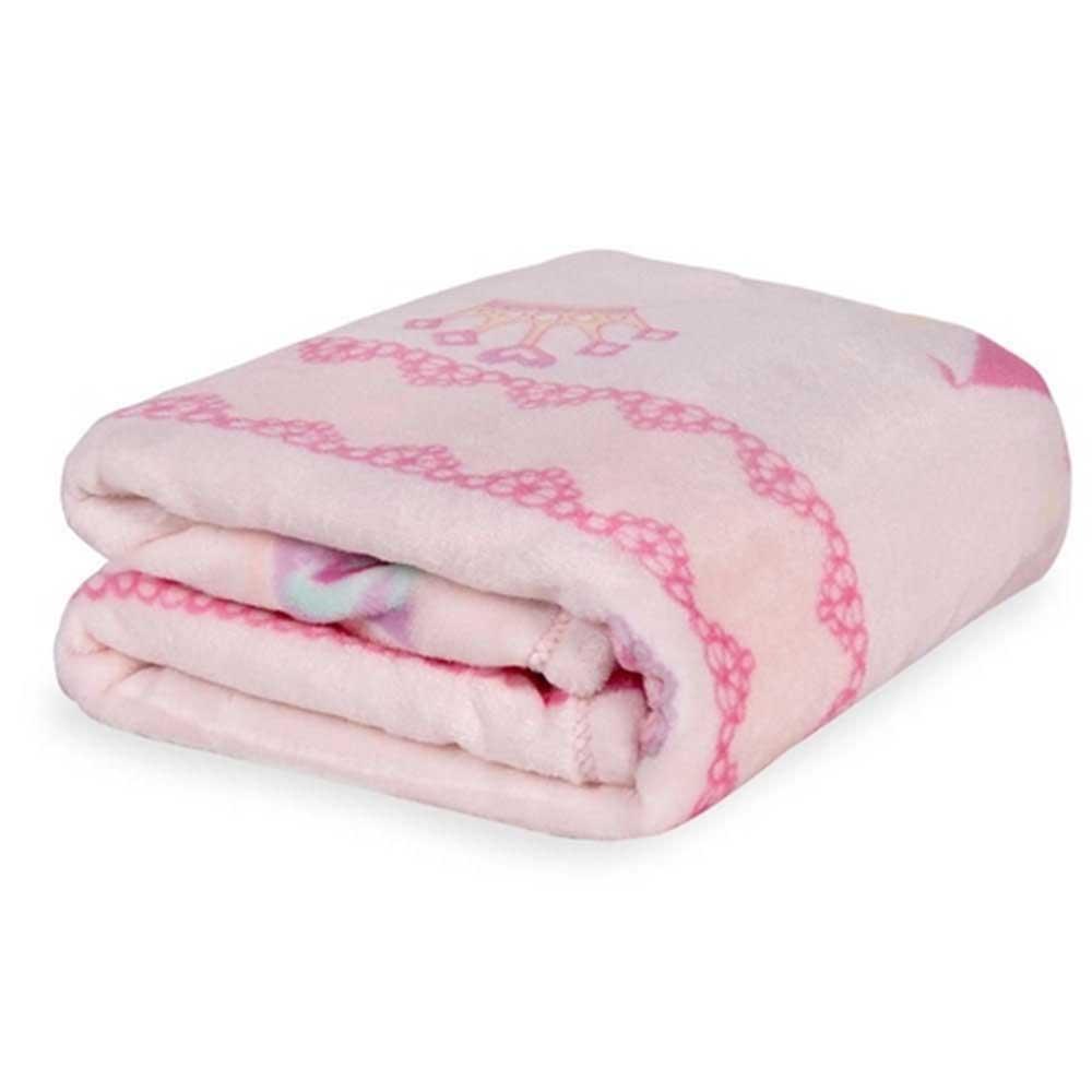 Cobertor de Bebê Microfibra Plush Jolitex