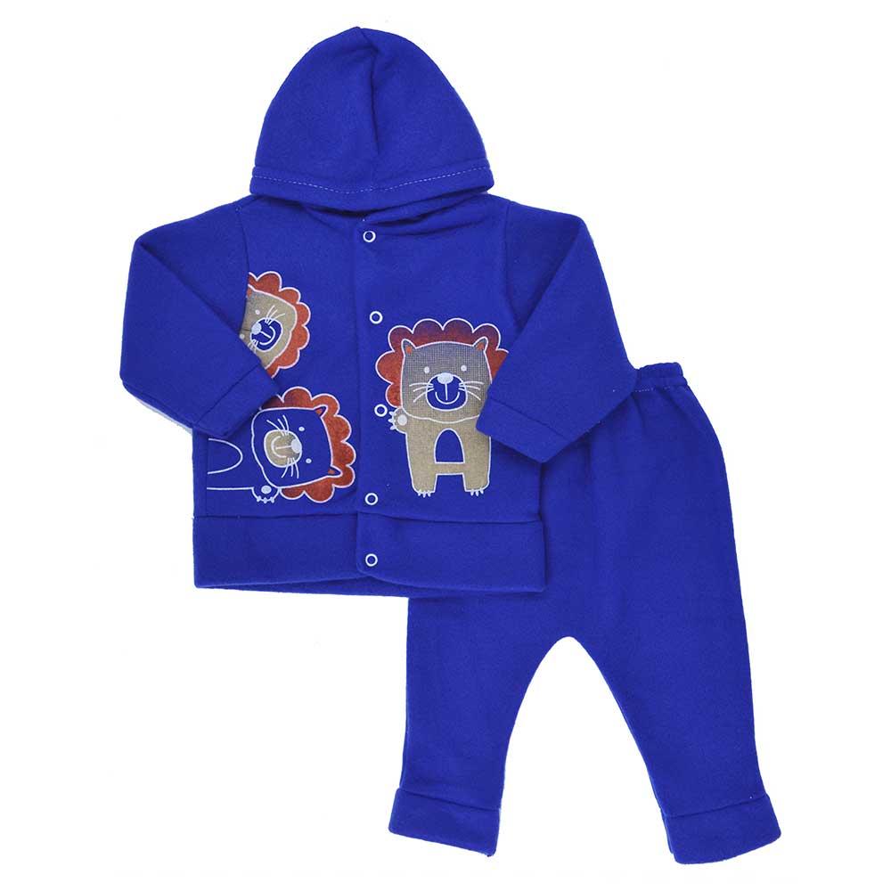 Conjunto de Bebê Soft Azul Bic (P/M/G)