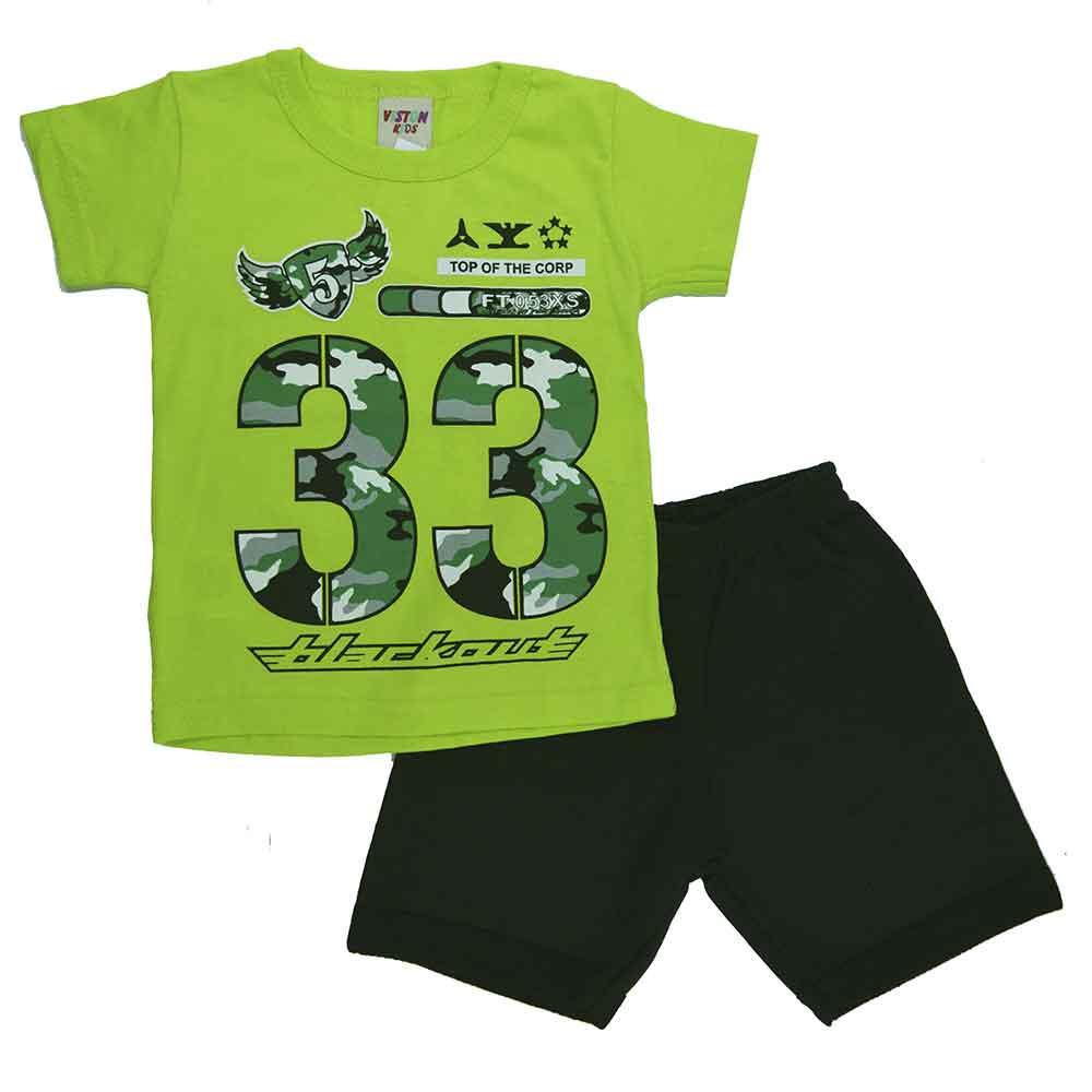 Conjunto Infantil de Verão 33 Verde